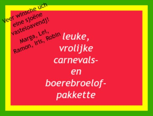 Carnaval2017 home links
